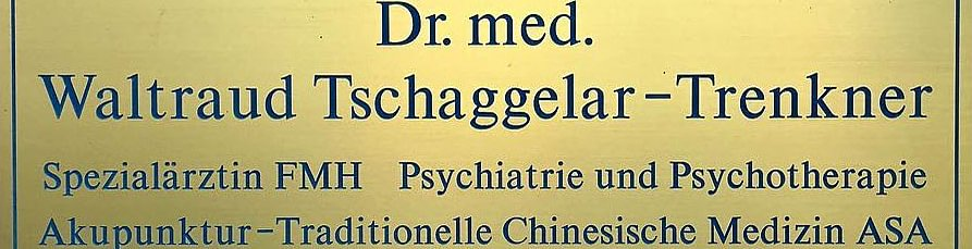 Dr. med. Tschaggelar-Trenkner Waltraud M.