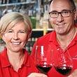 Philippe Hefti und Luzia Nipp freuen sich auf Ihren Besuch in der getränkeoase.