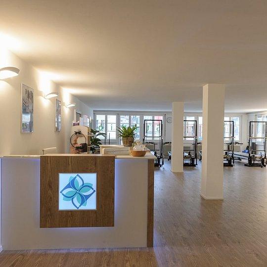 Unsere Trainingsbereich in Pilates Studio Luzern