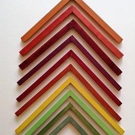 Musterwinkel Farbe lasiert