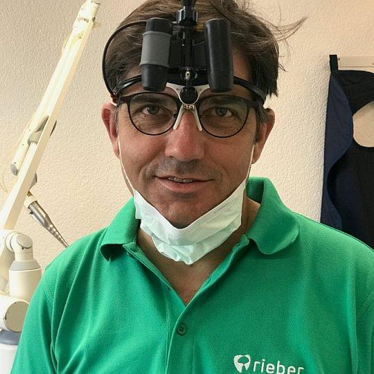 Dr. med. dent. Klaus Rieber