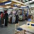 Kleider und Textilien