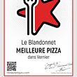 certificat meilleure Pizza de Vernier
