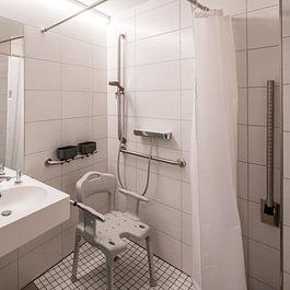 Hindernissfreie WC/Dusch Anlage
