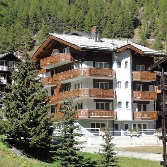 Helvetia Apartments - ruhige und zentrale Lage