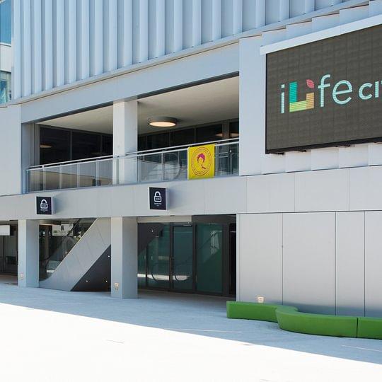 Implantation de nos locaux dans le centre I-Life City