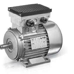 Motor mit Umrichter