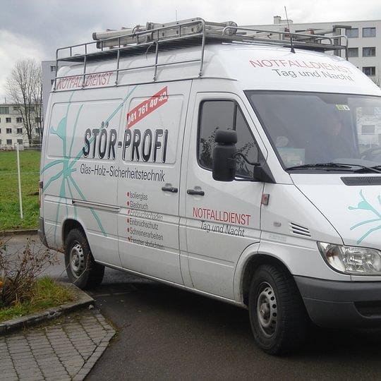 Werkstatt-Lieferwagen