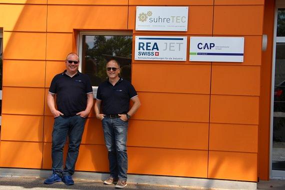 REA JET Swiss Team Benoît Doutaz und Gerald Leverkus