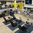 Computer + Games, hier unsere Lenkradsitz-Ausstellung