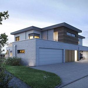 Doppel-Einfamilienhaus mit Attikawohnung Paradiesweg, Muri