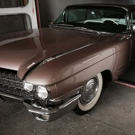 cadillac coupé Deville 1960