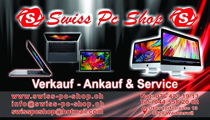 Swiss PC Shop in Wädenswil
