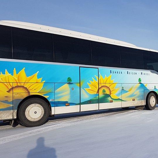 """Car im """"ewigen"""" Eis von Lappland"""