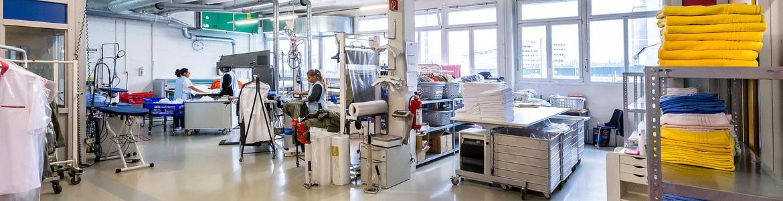 Réalise - Département blanchisserie et nettoyage