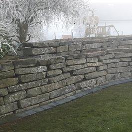 Mur en pierre de Tatüren