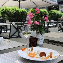 Dessert Restaurant de la Cigogne