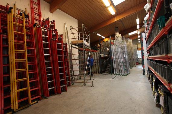 département vente échelles - échafaudages