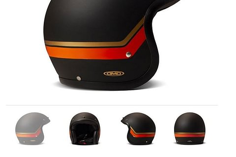 DMD Helmet Sunset