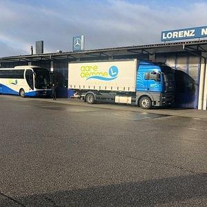 Reisebuc ist in Lyssach bei der Firma Lorenz-Gautschi stationiert