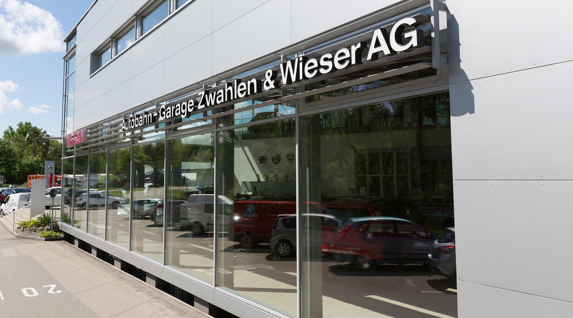 Autobahn garage zwahlen wieser ag lyss adresse for Garage ouvert aujourd hui