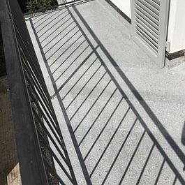Terrassenbeschichtigung Rümmingerstrasse Basel.