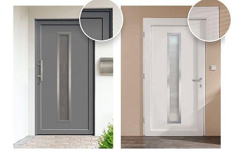 Porte et porte d'entrée en PVC
