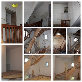 Rénovation d'un hall