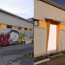 Graffittientfernung Wädenswil!