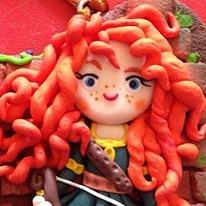 La Luna di Plastilina - bambolina decorativa