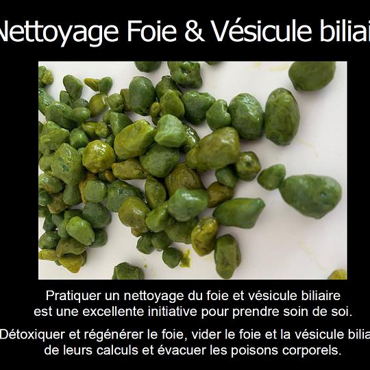 Nettoyage Foie & Vésicule biliaire