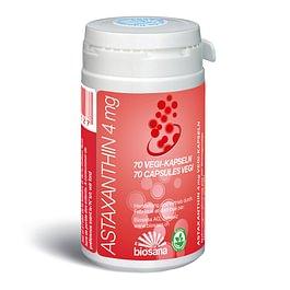 Biosana ASTAXANTHIN 4 mg VEGI-KAPSELN