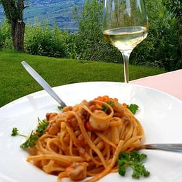 Dégustations Linguini & noix de St.Jaques & cognac Remi Martin