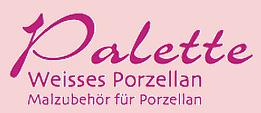 Palette Malporzellan & Zubehör