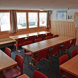 Speisesaal mit 40 Sitzplätzen