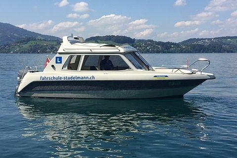 Kategorie A Motorboot