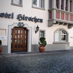 Praxiseingang Hotel Hirschen (mit Lift)