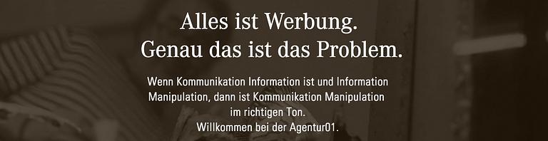 Agentur 01 AG für Kommunikation