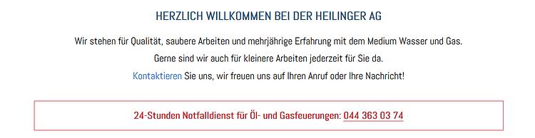 Heilinger AG