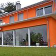 Einfamilienhaus mit Hebeschiebetürfront