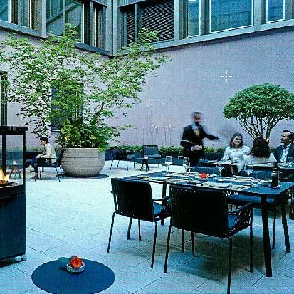 Innenhof Restaurant