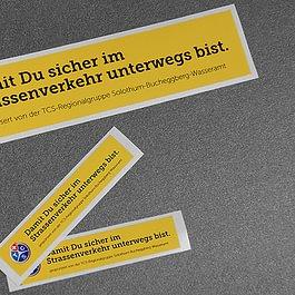 Wagner Grafiken, Stickers PVC-Kleber