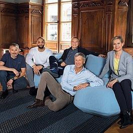 Unser topmotiviertes, innovatives und sympathische Team