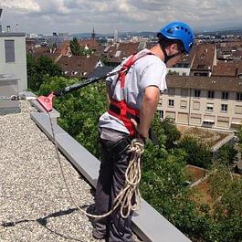 Système de sécurisation de toiture - G.Dentan SA