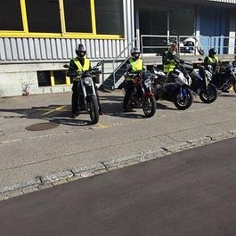 Roller-Motorrad Ausbildung Kat A1 / -A  beschränkt / A