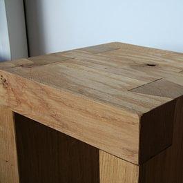 Hocker, Holzmöbel, Massivholz