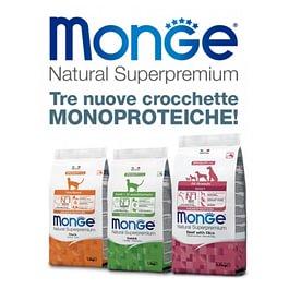 Monge nuove crocchette monoproteiche