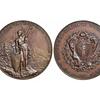Svizzera - Glarona, Festa Cantonale di Tiro, Medaglia 1892