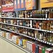 La rayon spiritueux est composé de nombreux whiskies, rhums, vodka, liqueurs, etc.