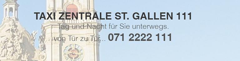 Taxi-Zentrale St. Gallen 111 GmbH